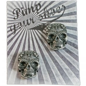 Shoe-Pin Sugar Skull SHL-2